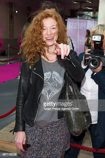 Marleen Lohse attends the 'Dirty Dancing' musical premiere at Admiralspalast on April 27, 2014 in Berlin, Germany.