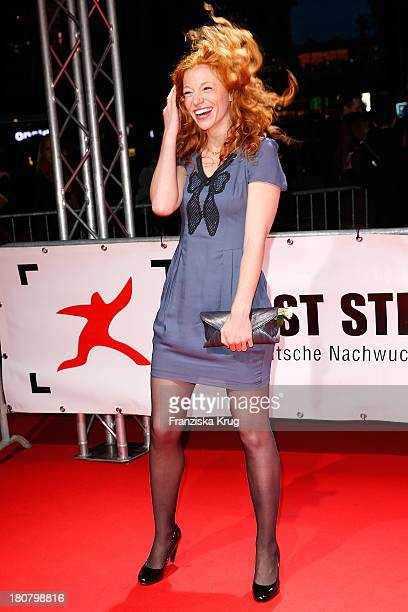 Marleen Lohse attends the First Steps Awards 2013 at Stage Theater on September 16, 2013 in Berlin, Germany.