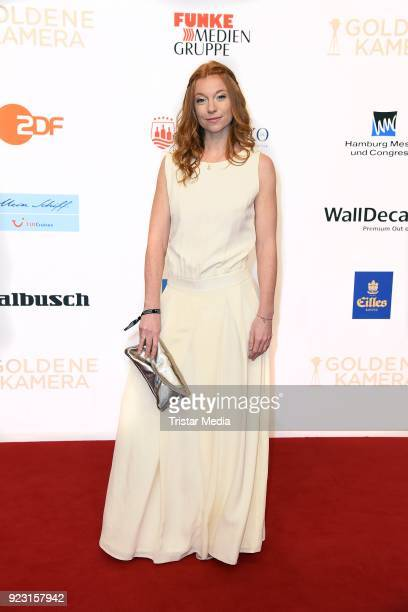 Marleen Lohse attends the Goldene Kamera on February 22 2018 in Hamburg Germany