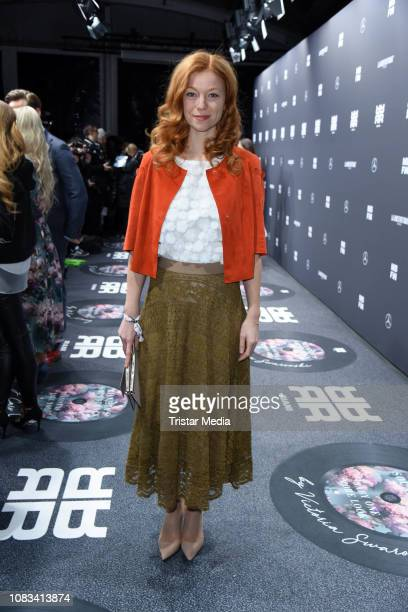Marleen Lohse attends the Riani fashion show during the Berlin Fashion Week Autumn/Winter 2019 at ewerk on January 16 2019 in Berlin Germany