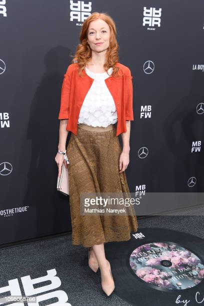Marleen Lohse attends the Riani show during the Berlin Fashion Week Autumn/Winter 2019 at ewerk on January 16 2019 in Berlin Germany