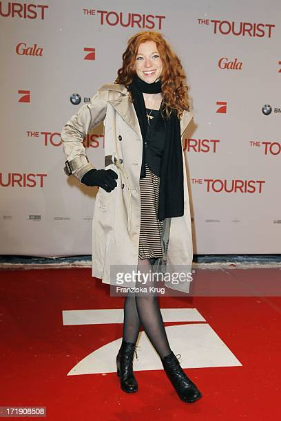 "Marleen Lohse Bei Der Premiere Des Films ""The Tourist"" Im Cinestar Am Sony Center In Berlin ."