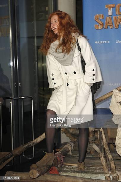 Marleen Lohse Bei Der Premiere Von Tom Sawyer In Berlin