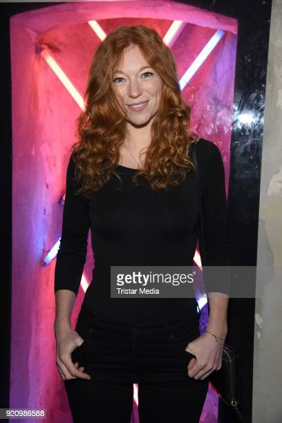 Marleen Lohse during the Pantaflix Panta Party on February 19 2018 in Berlin Germany