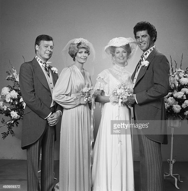 LIVES Marlena Evans and Don Craig Wedding Pictured Edward Mallory as William Bill Horton Andrea Hall as Samantha Evans Deidre Hall as Marlena Evans...