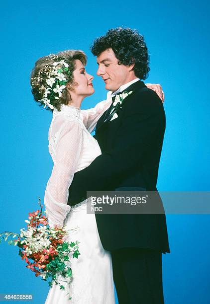 LIVES 'Marlena Evans Roman Brady Wedding' Pictured Deidre Hall as Marlena Craig Wayne Northrop as Roman Brady