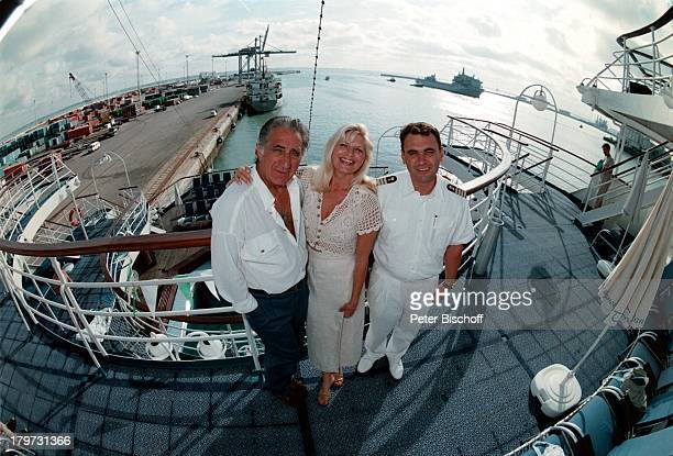 Marlene Charell Ehemann Roger PappiniLuxusliner Calypso Kreuzfahrt Urlaub1997
