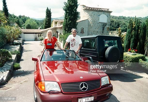 Marlene Charell mit Ehemann Roger PappiniLe Rouret/Cote d Azur/FrankreichHomestory