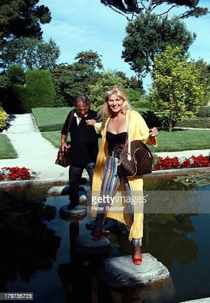 Marlene Charell mit Ehemann Roger PappiniZDFShow Das Leben ist eine WundertüteNizza/Frankreich