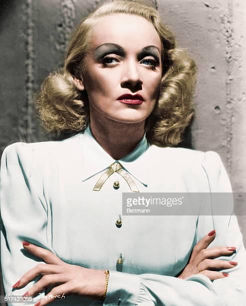 Marlene Dietrich. Ca. 1930s.