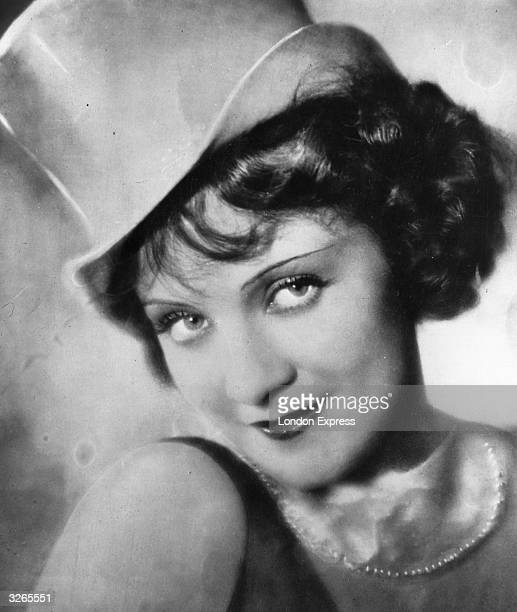Marlene Dietrich , formerly Maria Magdalena Von Losch, the German singer and actress who spent most of her career in America. She appears here in the...