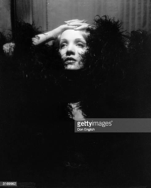 Marlene Dietrich in her role as Shanghai Lily in the film 'Shanghai Express', directed by Josef von Sternberg.