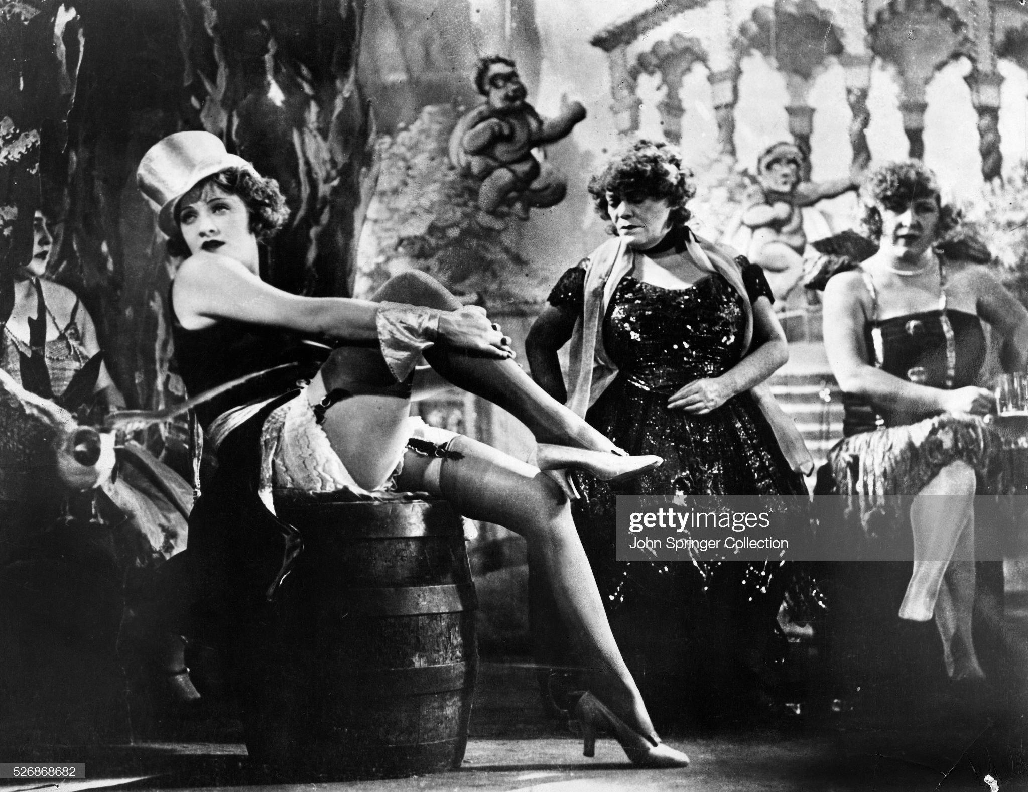 Marlene Dietrich in The Blue Angel : Photo d'actualité