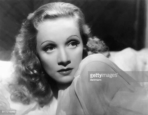 Marlene Dietrich publicity still.