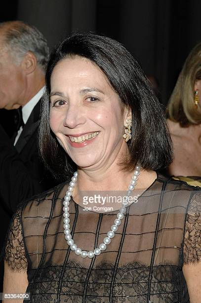 Marlene Hess attends The Frick Collection Autumn dinner at The Frick Collection on October 20 2008 in New York City