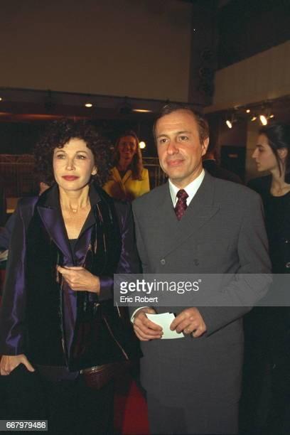 Marlene Jobert and attache de press Francis Blaise