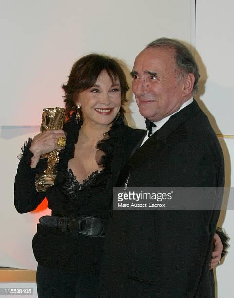 Marlene Jobert Cesar of Honour and Claude Brasseur prensenter
