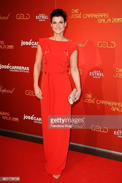 Marlene Lufen attends the 21th Annual Jose Carreras Gala at Hotel Estrel on December 17 2015 in Berlin Germany