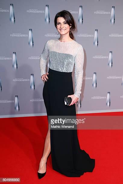 Marlene Lufen attends the German Television Award at Rheinterrasse on January 13 2016 in Duesseldorf Germany
