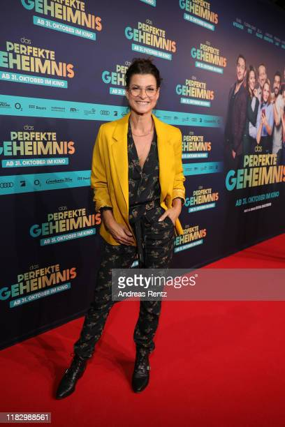 Marlene Lufen attends the premiere of Das perfekte Geheimnis on October 23 2019 in Cologne Germany
