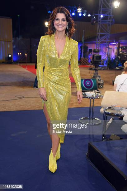 Marlene Lufen attends the Promi Big Brother final at MMC Studios on August 23 2019 in Cologne Germany