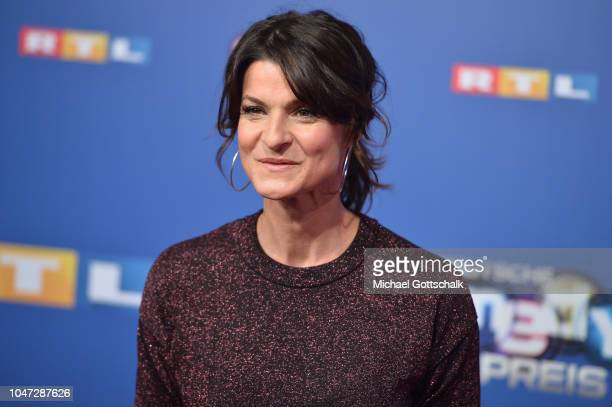Marlene Lufen attends the red carpet at the 22nd Annual German Comedy Awards at Studio in Koeln Muehlheim on October 7 2018 in Cologne Germany