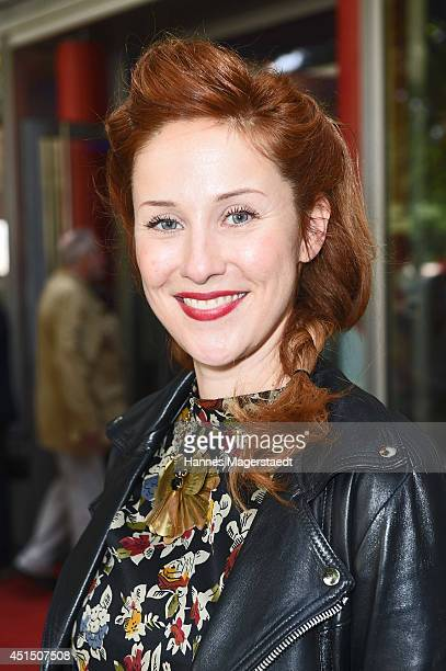 Marlene Morreis attends the 'Die Frau aus dem Moor' Premiere as part of Filmfest Muenchen 2014 on June 30, 2014 in Munich, Germany.