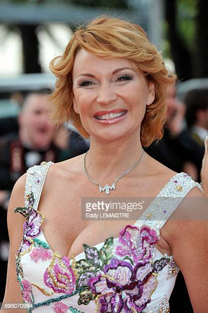 Marlene Mourreau at the premiere of Poetry during the 63rd Cannes International Film Festival