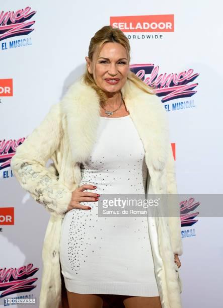 Marlene Mourreau attends 'Flashdance The Musical' Premiere on January 29 2020 in Madrid Spain