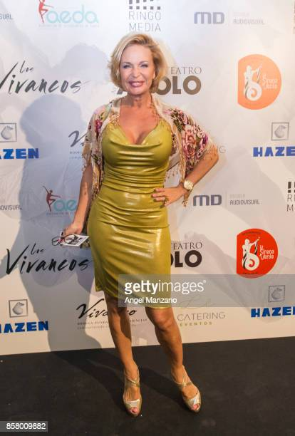 Marlene Mourreau attends 'Nacidos Para Bailar' Photocall at Nuevo Teatro Apolo on October 5 2017 in Madrid Spain
