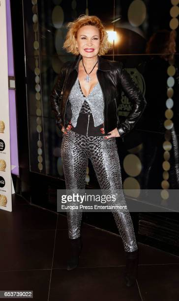 Marlene Mourreau attends the presentation of the 10th Mr Gay Pride at Barcelo theatre on March 15 2017 in Madrid Spain