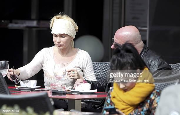 Marlene Mourreau is seen on March 17 2016 in Madrid Spain
