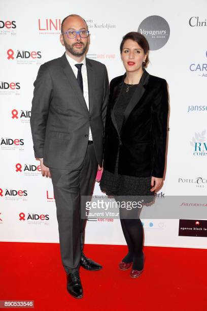 Marlene Schiappa attends 'Link for Aides' Charity Dinner at Pavillon Cambon Capucines on December 11 2017 in Paris France