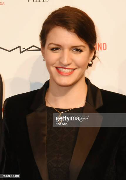 Marlene Schiappa attends Link Pour Aides Charity Dinner at Pavillon Cambon on December 11 2017 in Paris France