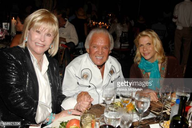 Marlene Sexton Marty Richards and Francine LeFrak attend the Best Buddies Hamptons Gala at the Home of Anne Hearst McInerney and Jay McInerney on...