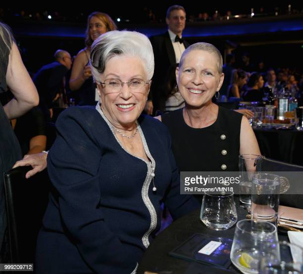 Marlene Willis and guest attends the Comedy Central Roast of Bruce Willis at Hollywood Palladium on July 14 2018 in Los Angeles California