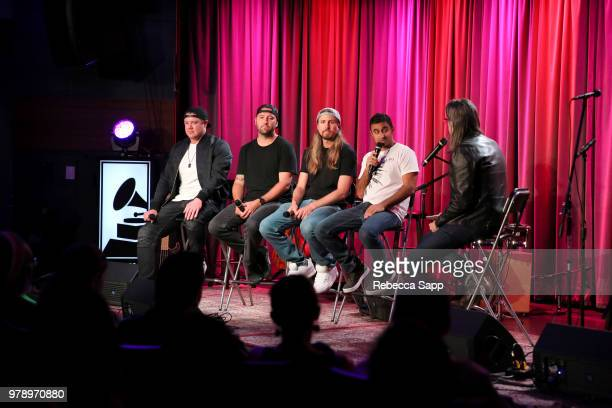 Rebelution performs at The Drop Rebelution at The GRAMMY Museum on June 19 2018 in Los Angeles California