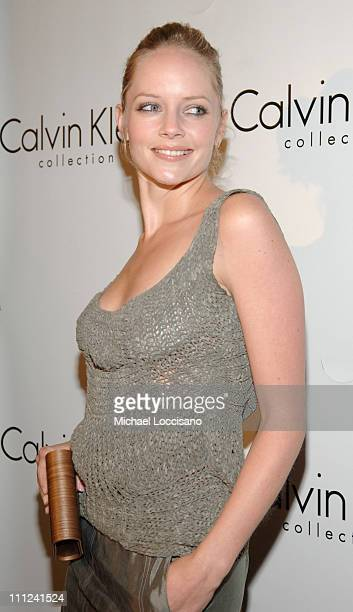"""Marley Shelton during Calvin Klein, Inc. And Bryan Adams Host the Launch of His New Photography Book """"American Women"""" at The Calvin Klein Collection..."""