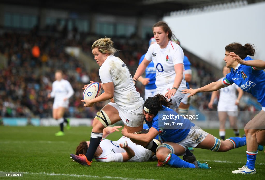 England v Italy – Womens Six Nations : News Photo