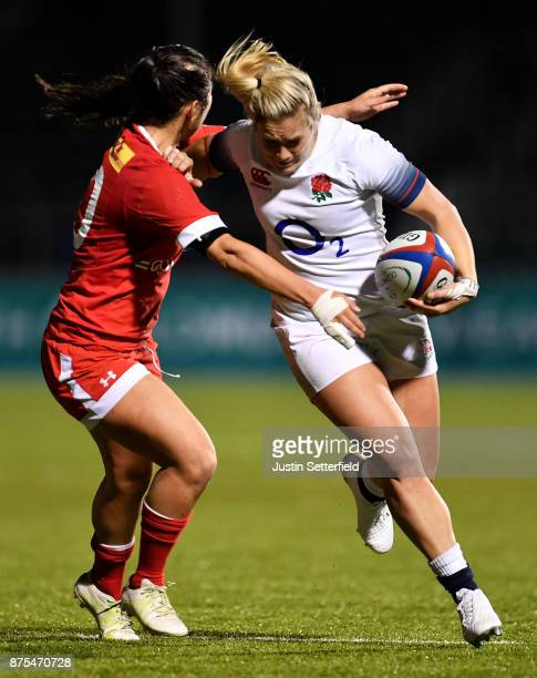 Marlie Packer of England during the Old Mutual Wealth Series between England Women and Canada Women at Allianz Park on November 17 2017 in Barnet...