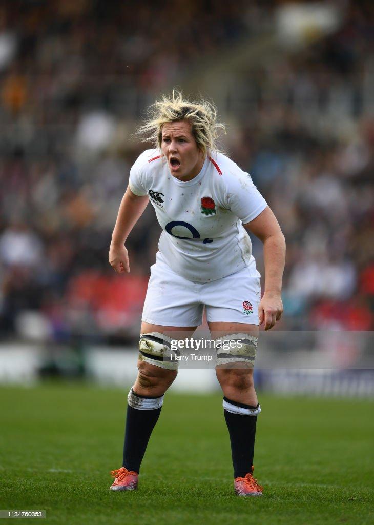England v Italy – Womens Six Nations : News Photo