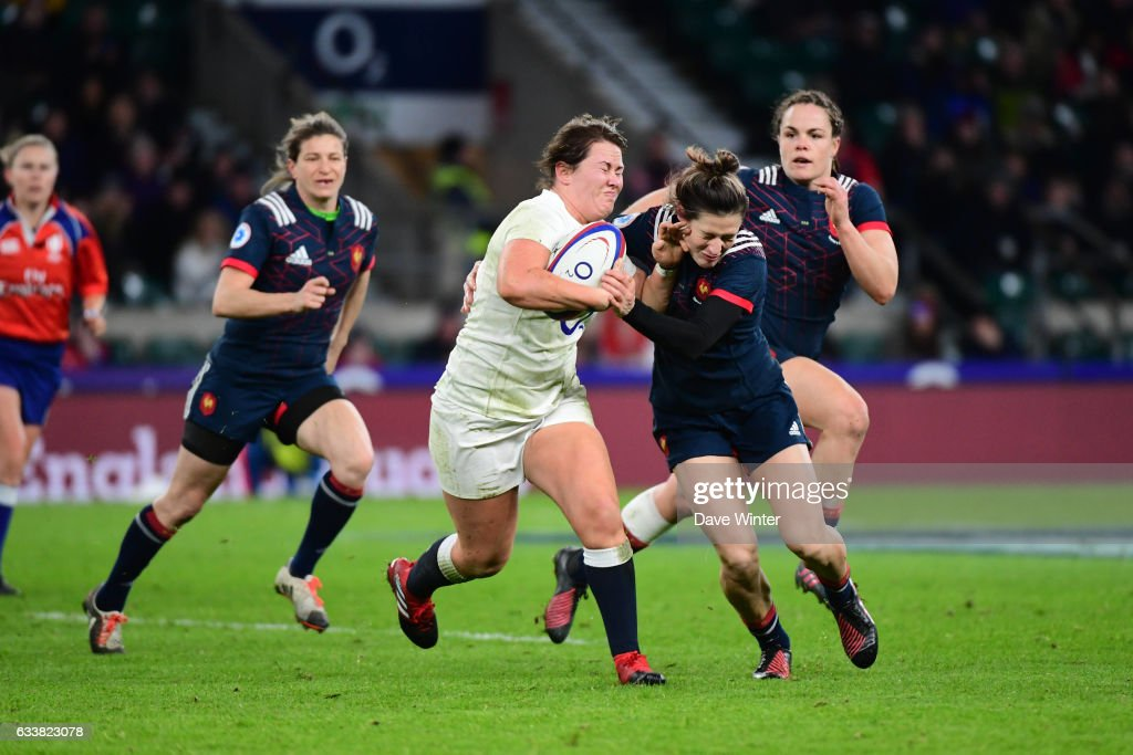 England v France - Women's RBS Six Nations : News Photo