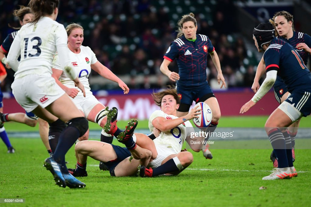 England v France - Women's RBS Six Nations : News Photo