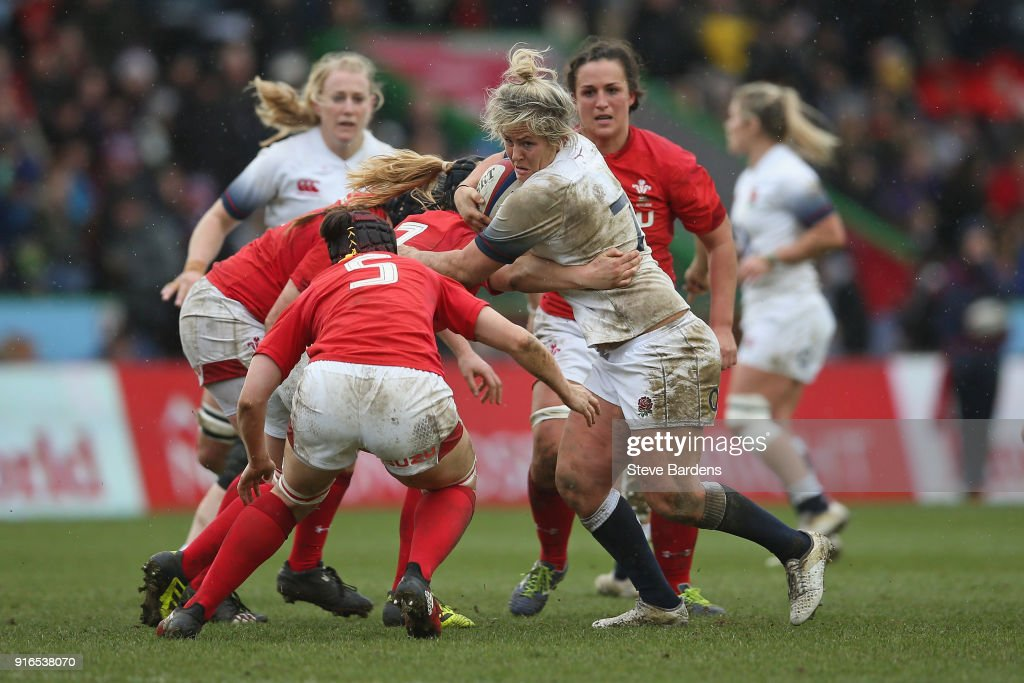 England Women v Wales Women - Natwest Women's Six Nations Championships : News Photo