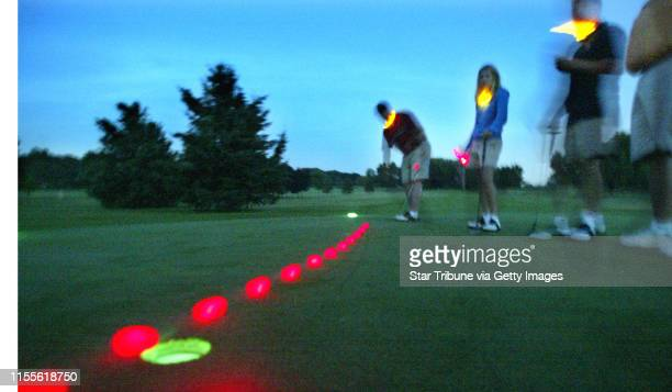 Marlin Levison Strib 07/09/04 Eagan Golfers can now play golf after dark with the Glow Golf program being promoted at Parkview Golf Club in Eagan...