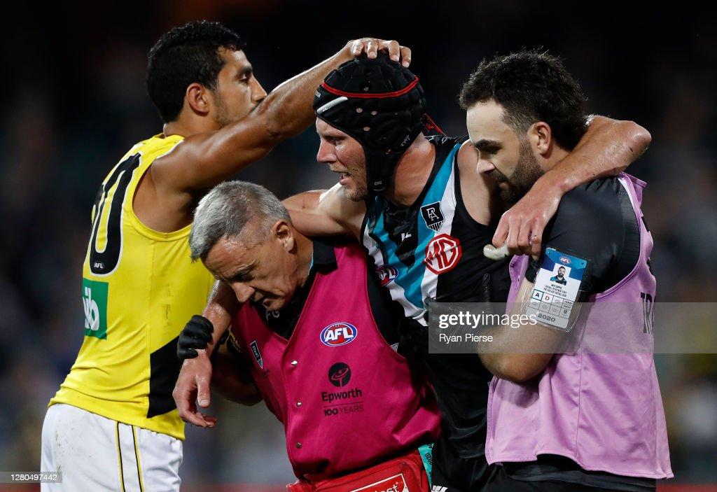 AFL 1st Preliminary Final - Port Adelaide v Richmond : News Photo