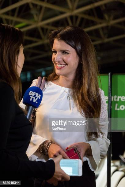Marlène Schiappa during the council of the Republic on the Move party at Eurexpo Lyon France on November 18 2017 Christophe Castaner was elected as...