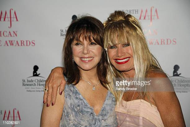 Marlo Thomas and betsey Johnson during 28th Annual American Image Awards Arrivals at Hyatt in New York City New York United States