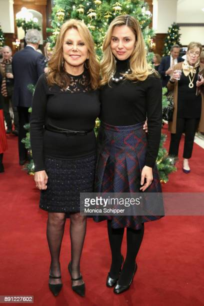 Marlo Thomas and Cara Buono attend as Brooks Brothers celebrates the holidays with St Jude Children's Research Hospital on December 12 2017 in New...