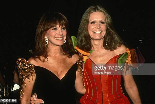 Marlo Thomas and Gloria Steinem circa 1988 in New York City